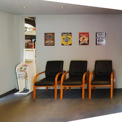 Salle d'attente avec Wifi